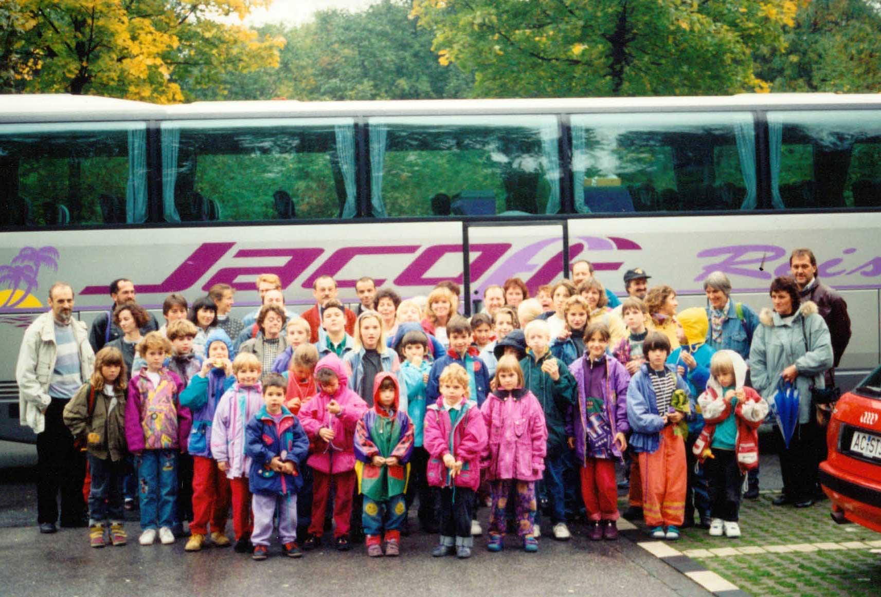 Fahrt nach Duisburg 1993