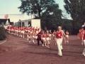 Einmarsch auf den Sportplatz 1974