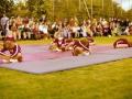 Schauturnen auf dem Sportplatz 1974