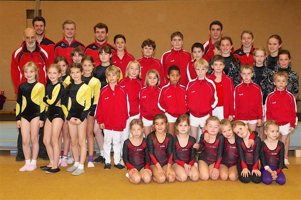Gruppenbild Teilnehmer Vereinsmeisterschaft 2105 des VTV-Aaachen