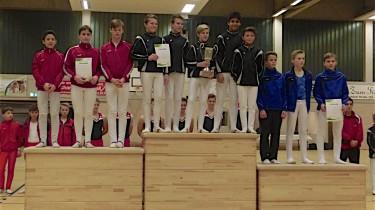 C-Jugendmannschaft des VTV ist auf dem zweiten Platz. Gratulation!