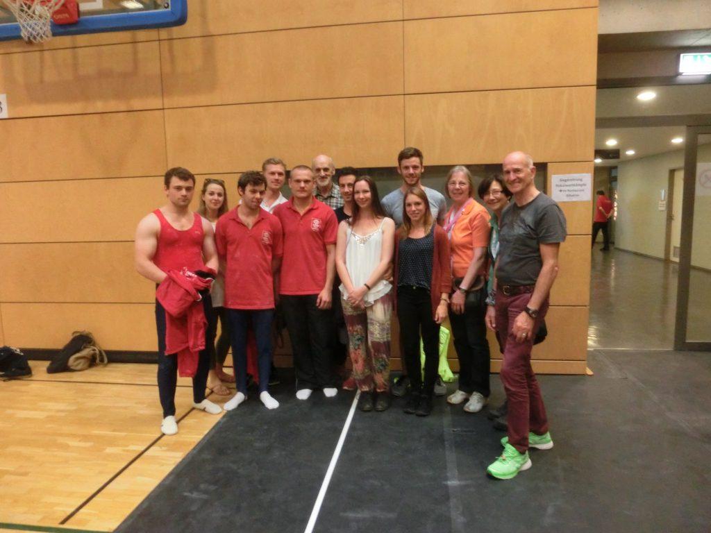 Teilnehmer beim Deutschen Turnfest Berlin 2017